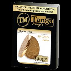 Flipper Coin 50 Cent Euro (E0035) by Tango - Trick wwww.magiedirecte.com