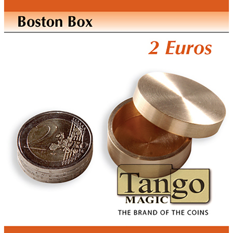 BOSTON BOX (2 Euro coin) - Tango wwww.magiedirecte.com