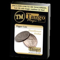 Flipper Coin Eisenhower Dollar (D0038) by Tango - Trick wwww.magiedirecte.com