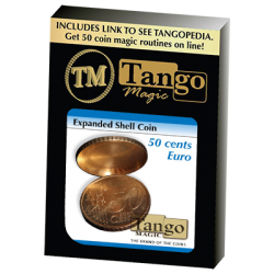 Expanded Shell 50 Cent Euro (One Sided)(E0003) - Tango wwww.magiedirecte.com