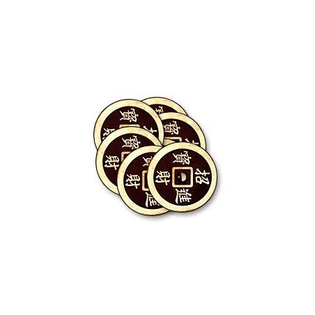 CHINESE COIN Noir (Half Dollar) wwww.magiedirecte.com