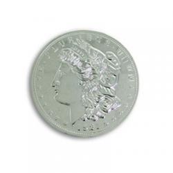 Jumbo 3 inch Morgan Chrome Dollar - Trick wwww.magiedirecte.com