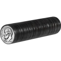 U.S. Dimes, ungimmicked roll of 50 coins wwww.magiedirecte.com
