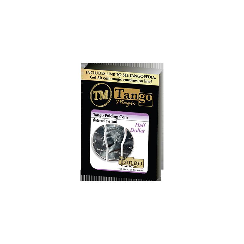 Folding Coin Half Dollar (Internal System)D0022 - Tango wwww.magiedirecte.com