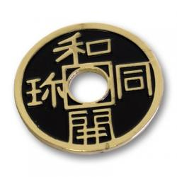 CHINESE COIN (Noir-Half Dollar) - Royal Magic wwww.magiedirecte.com