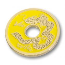 CHINESE COIN (Jaune-Half Dollar) - Royal Magic wwww.magiedirecte.com