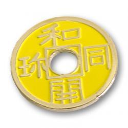 CHINESE COIN (Jaune-Half Dollar) - Royal Magic wwww.magiedirecte.com