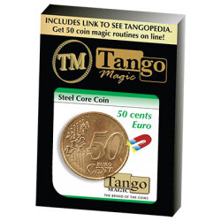 STEEL CORE COIN (50 Cent Euro) - Tango wwww.magiedirecte.com