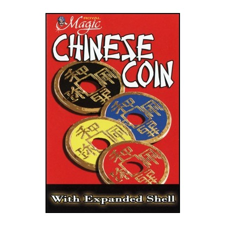 EXPANDED CHINESE SHELL w/Coin (JAUNE) wwww.magiedirecte.com