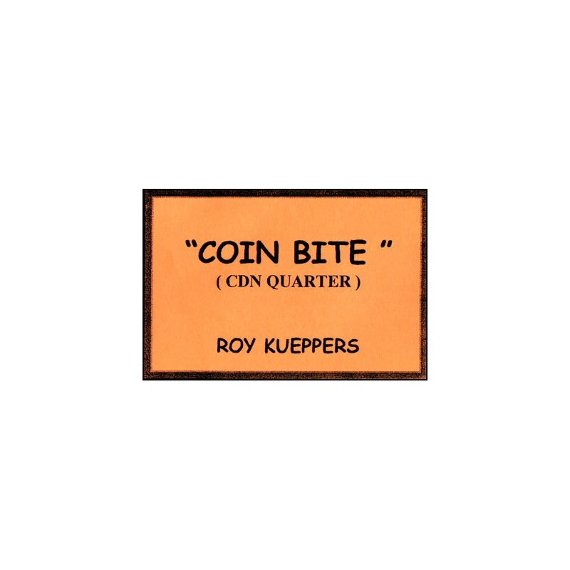 Coin Bite (Canadian Quarter) - Trick wwww.magiedirecte.com