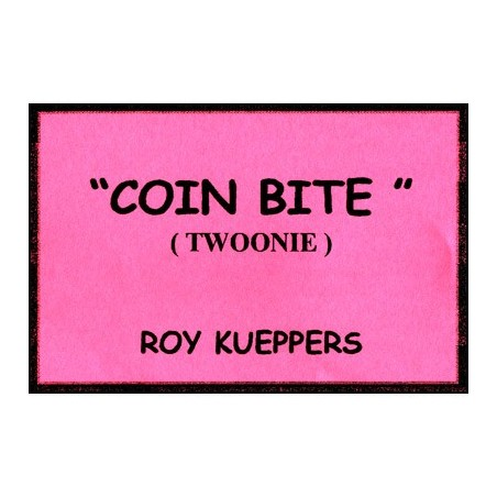 Coin Bite Canadian (2 Dollar Coin/Twoonie) - Trick wwww.magiedirecte.com