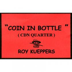 Coin In Bottle (Canadian Quarter) - Trick wwww.magiedirecte.com