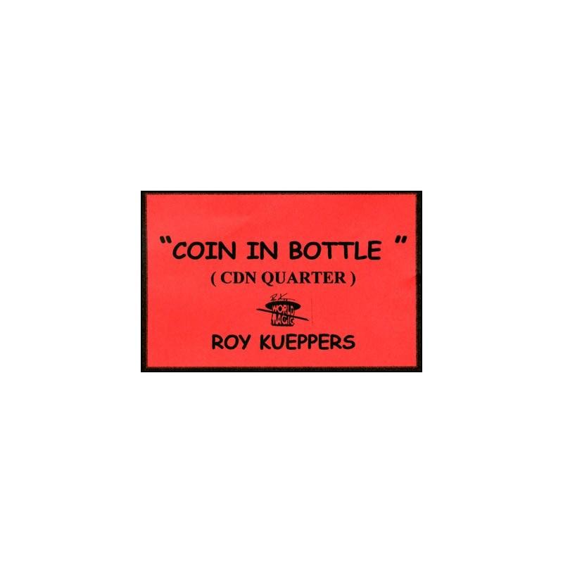 Coin In Bottle (Canadian Quarter) - Trick wwww.magiedirecte.com