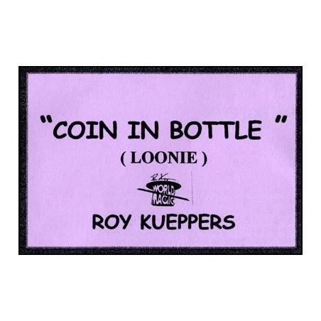 Coin In Bottle (Canadian Dollar/Loonie) - Trick wwww.magiedirecte.com
