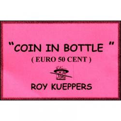 Coin In Bottle (50 Cent Euro) - Trick wwww.magiedirecte.com