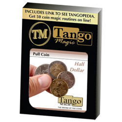 Pull Coin (D0054) (Half Dollar) by Tango - Trick wwww.magiedirecte.com