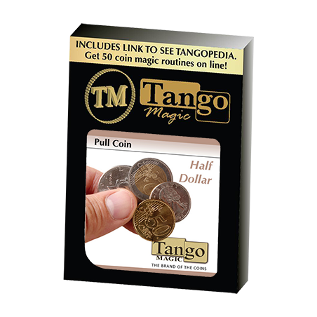 Pull Coin (Half Dollar) - Tango wwww.magiedirecte.com