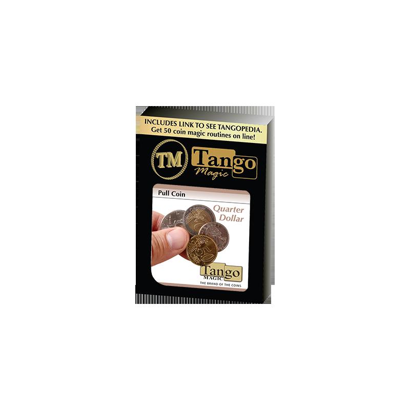 Pull Coin (D0053) (Quarter) by Tango - Trick wwww.magiedirecte.com
