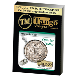 MAGNETIC COIN (Quarter Dollar) - Tango wwww.magiedirecte.com