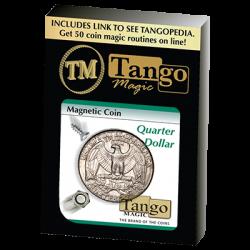 MAGNETIC COIN (Quarter Dollar) - Tango wwww.magiedirecte.com