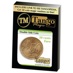 Double Sided Coin (50 cent Euro) (E0025) by Tango - Trick wwww.magiedirecte.com