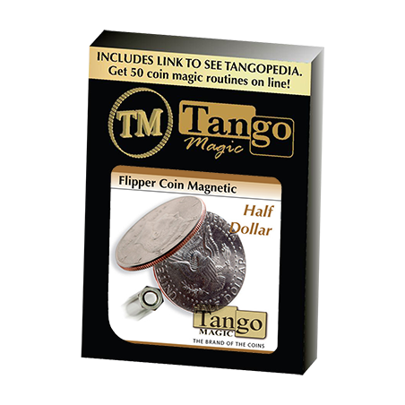 MAGNETIC FLIPPER COIN (Half Dollar) - Tango wwww.magiedirecte.com