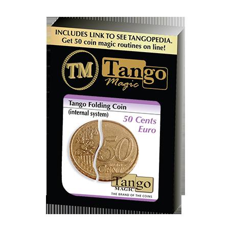 FOLDING COIN INTERNAL SYSTEM (50 Cent Euro) - Tango wwww.magiedirecte.com