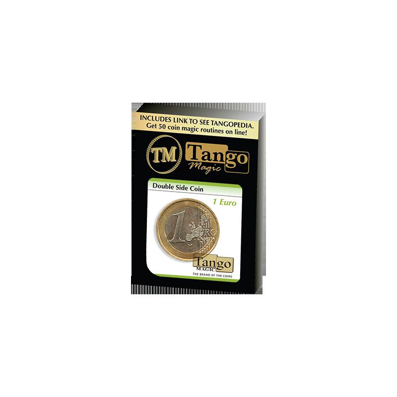DOUBLE SIDED COIN (1 Euro) - Tango wwww.magiedirecte.com