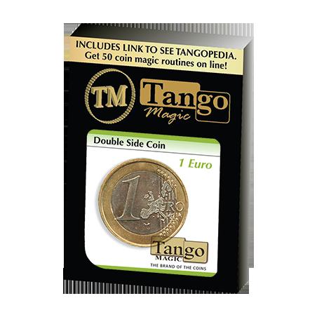 Double Sided Coin (1 Euro) (E0026) by Tango - Trick wwww.magiedirecte.com