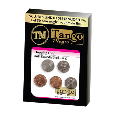 HOPPING HALF EXPANDED SHELL COINS (English Penny) - Tango wwww.magiedirecte.com