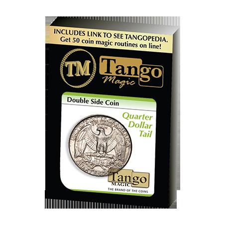 Double Side Quarter (Tails)(D0036) by Tango Magic - Trick wwww.magiedirecte.com