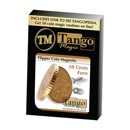 MAGNETIC FLIPPER COIN (50 Cent Euro) - Tango wwww.magiedirecte.com