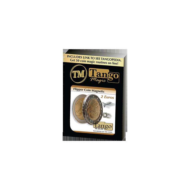 MAGNETIC FLIPPER COIN (2 Euro) - Tango wwww.magiedirecte.com