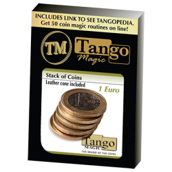 Stack of Coins (1 Euro) by Tango Magic - Trick (E0052) wwww.magiedirecte.com