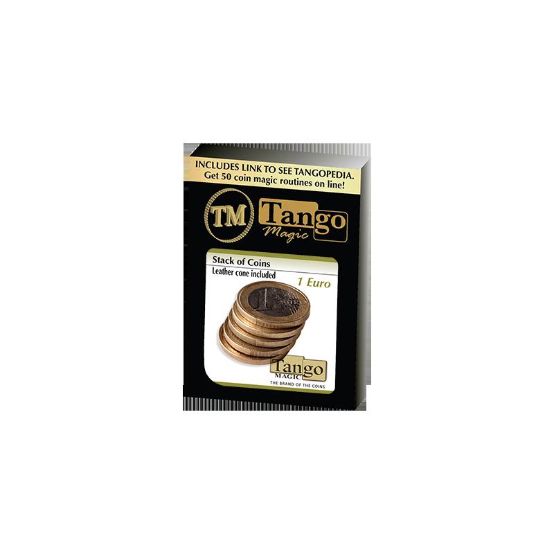 Stack of Coins (1 Euro) by Tango Magic - Trick (E0052) wwww.magiedirecte.com