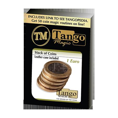STACK OF COINS (1 Euro) - Tango Magic wwww.magiedirecte.com