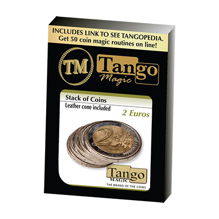 Stack of Coins (2 Euros) by Tango Magic- Trick (E0053) wwww.magiedirecte.com