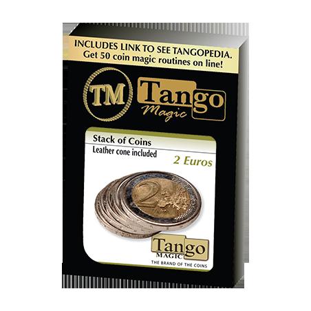 STACK OF COINS (2 Euros) - Tango Magic wwww.magiedirecte.com