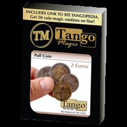 Pull Coin (2 Euro) by Tango Magic -Trick (E0047) wwww.magiedirecte.com