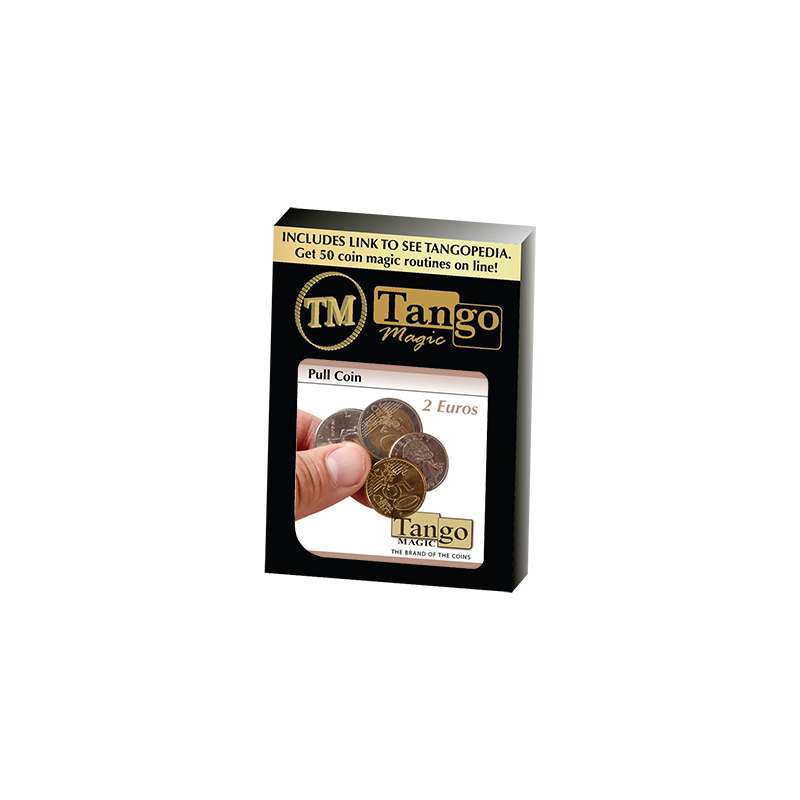 Pull Coin (2 Euro) by Tango Magic -Trick (E0047) wwww.magiedirecte.com