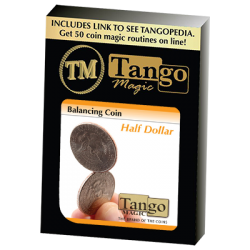 BALANCING COIN (Half Dollar) - Tango Magic wwww.magiedirecte.com