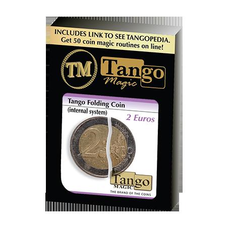 Tango Folding Coin 2 Euro Internal System by Tango-Trick (E0039) wwww.magiedirecte.com