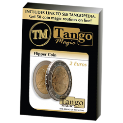 Flipper Coin 2 Euro by Tango Magic - Trick (E0036) wwww.magiedirecte.com