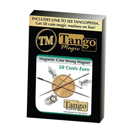 MAGNETIC COIN STRONG MAGNET (50 cents Euro) - Tango wwww.magiedirecte.com