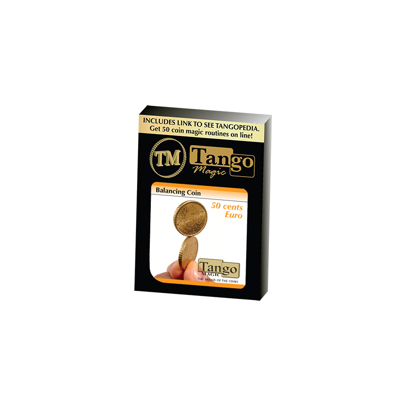 Balancing Coin (50 cents Euro) by Tango - Trick(E0048) wwww.magiedirecte.com