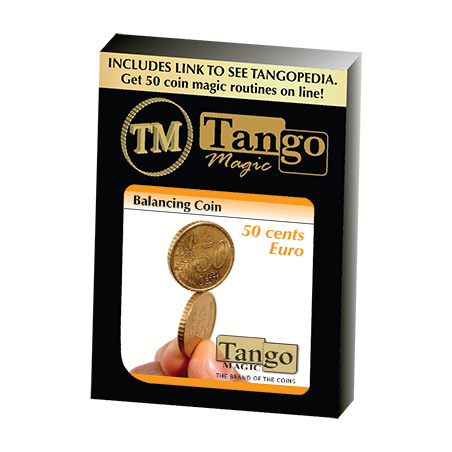 BALANCING COIN (50 cents Euro) - Tango wwww.magiedirecte.com