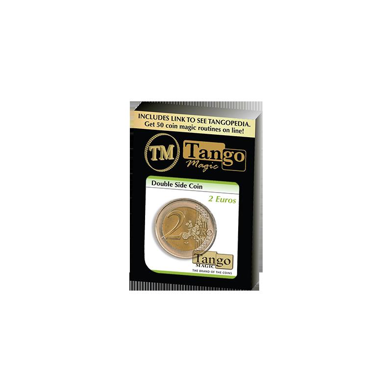 Double Sided Coin (2 Euro) by Tango - Trick (E0027) wwww.magiedirecte.com