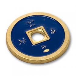 NORMAL CHINESE COIN Made in Brass (Bleu) - Tango wwww.magiedirecte.com