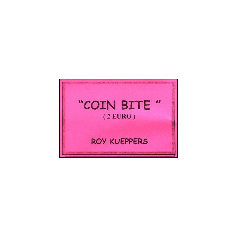 Coin Bite 2 Euro by Roy Kueppers - Trick wwww.magiedirecte.com