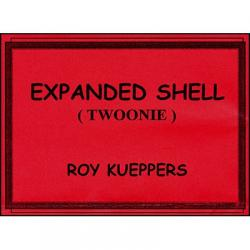 Expanded Shell Canadian Twoonie by Roy Kueppers - Trick wwww.magiedirecte.com